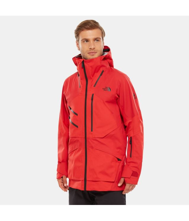 Tnf Veste Steep Series Fuse Brigandine Fiery Red Fuse Pour Homme