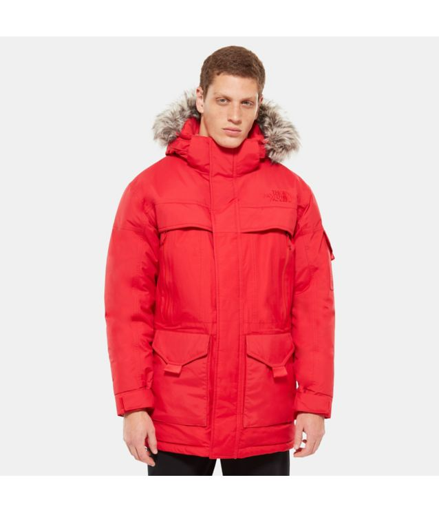 Tnf Parka Mcmurdo 2 Tnf Red Pour Homme