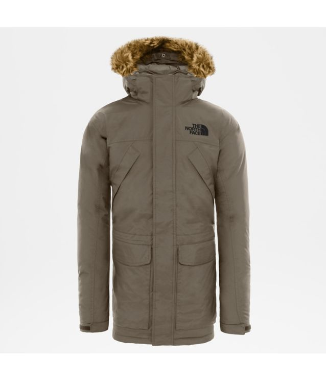 Tnf Parka New Peak Falcon Brown Dark Heather Pour Homme