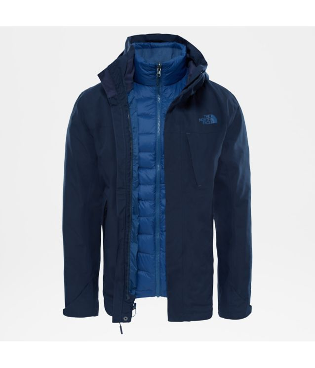 Tnf Veste Mountain Light Triclimate® Urban Navy/Urban Navy Pour Homme