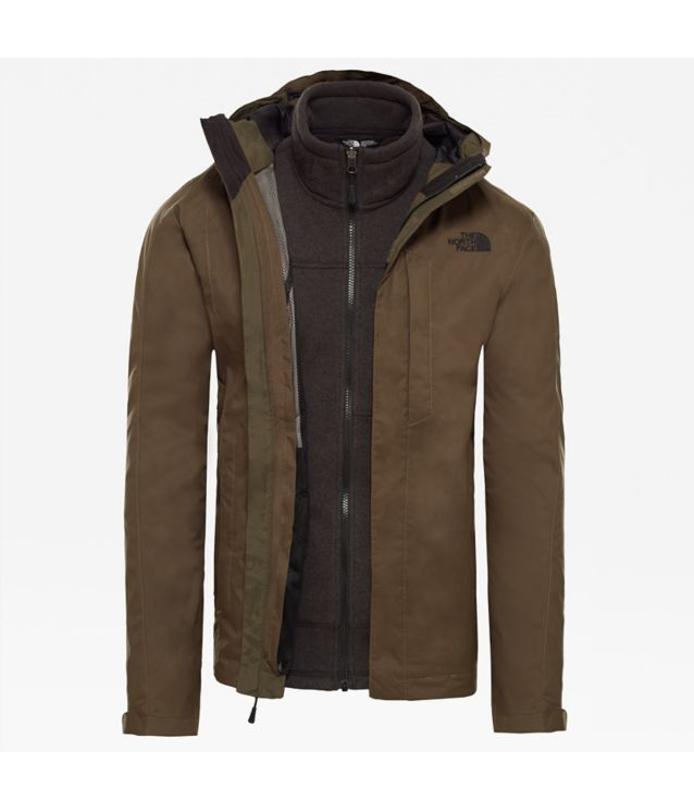 Tnf Veste Rto Alteo Triclimate® New Taupe Pour Homme