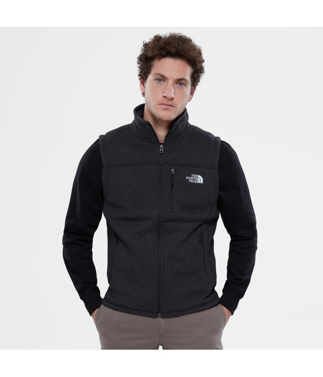 Tnf Gilet Gordon Lyons Tnf Black Heather Pour Homme