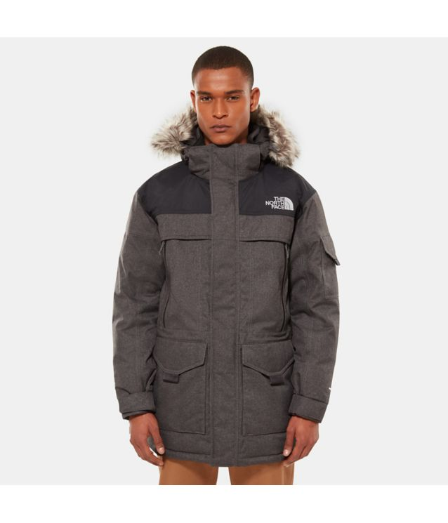 Tnf Parka Mcmurdo 2 Tnf Dark Grey Heather/Tnf Black Pour Homme