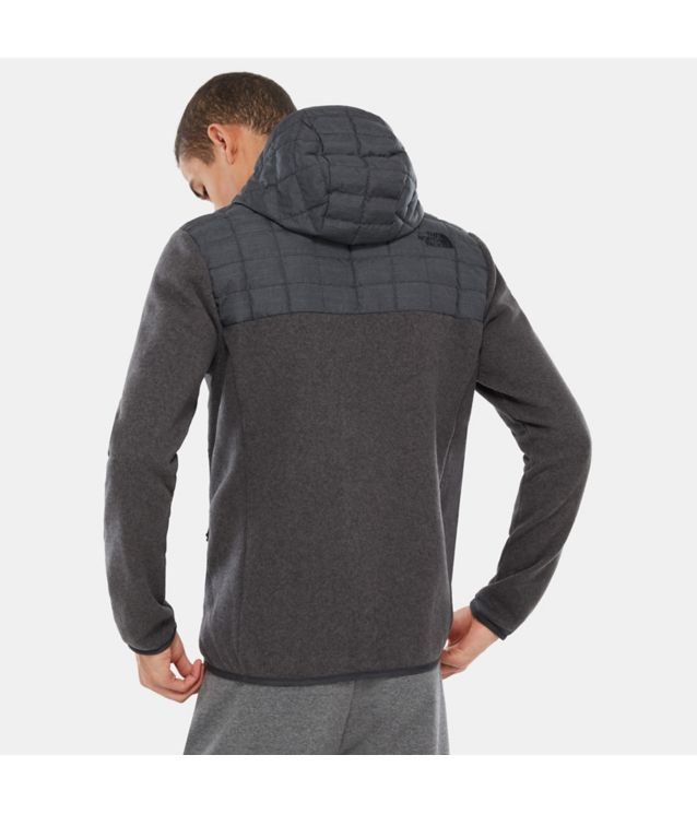 Tnf Veste à Capuche Thermoball™ Gordon Lyons Tnf Black/Tnf Dark Grey Heather Pour Homme