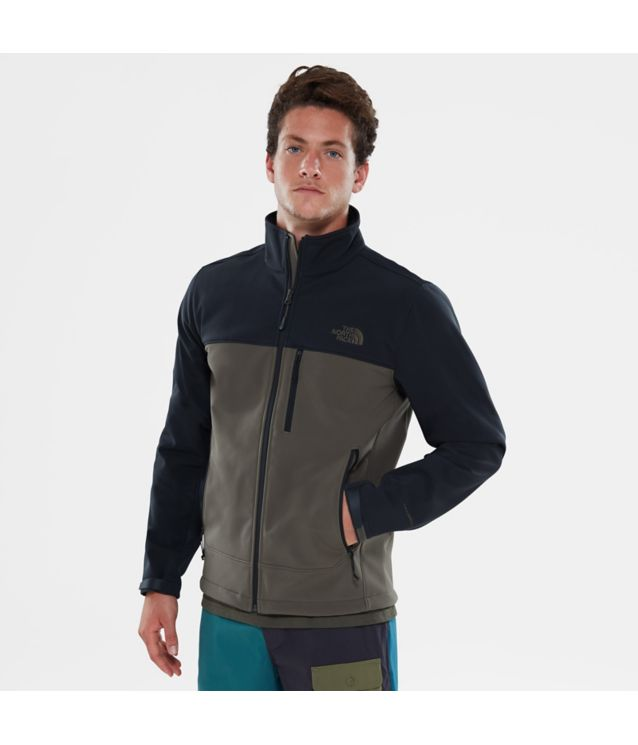 Tnf Veste Apex Bionic Tnf Black/New Taupe Green Pour Homme