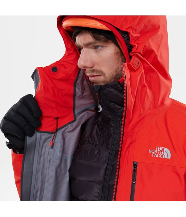Tnf Veste Gore-Tex® Pro Summit L5 Fiery Red Pour Homme