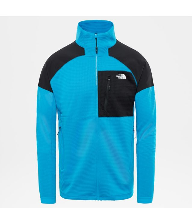 Tnf Veste Impendor Grid Hyper Blue/Tnf Black Pour Homme