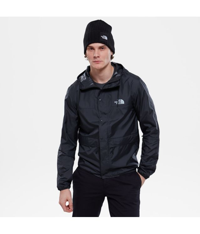 Tnf Veste Mountain 1985 Seasonal Celebration Tnf Black/High Rise Grey Pour Homme