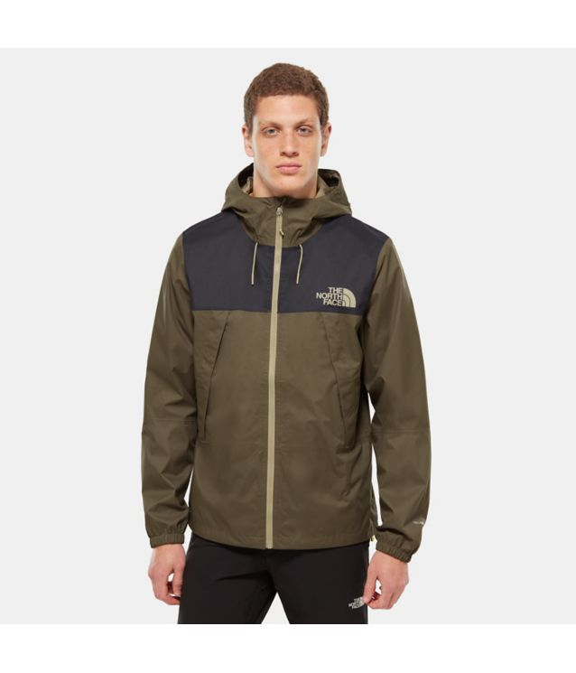 Tnf Veste Mountain Q 1990 New Taupe Green/Tnf Black Pour Homme