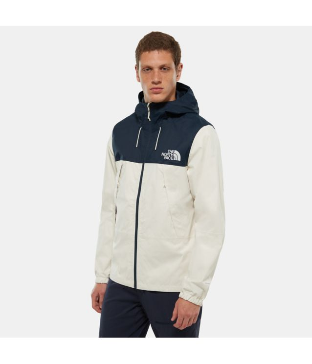 Tnf Veste Mountain Q 1990 Vintage White/Urban Navy Pour Homme