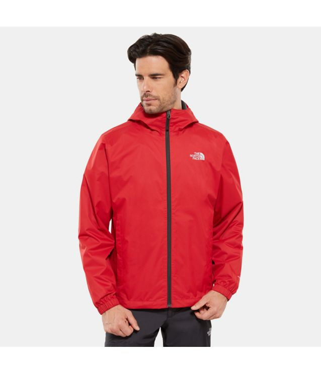 Tnf Veste Quest Rage Red Black Heather Pour Homme