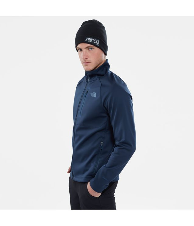Tnf Veste Softshell Canyonlands Urban Navy Heather Pour Homme