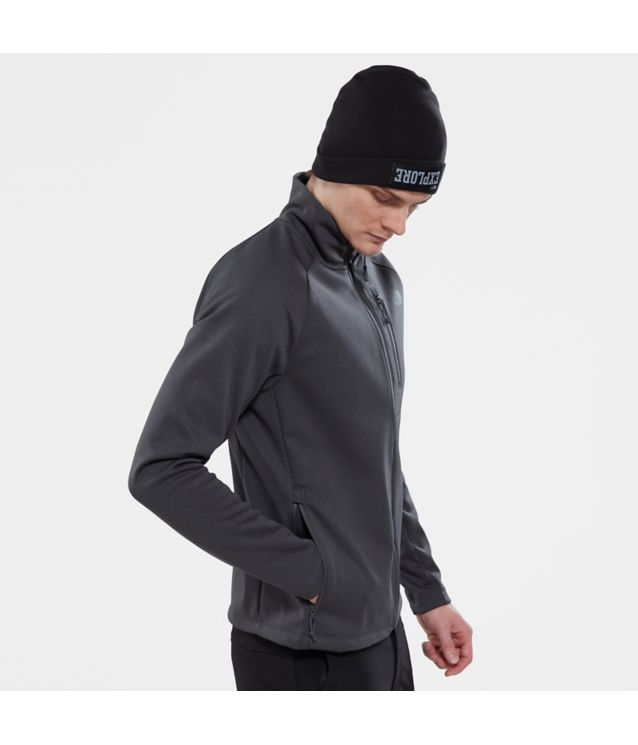 Tnf Veste Softshell Canyonlands Tnf Dark Grey Heather Pour Homme